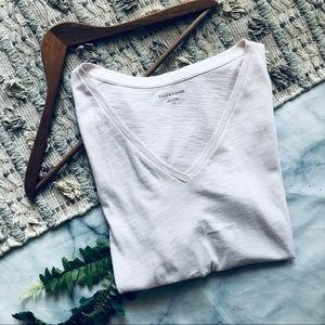 Eileen Fisher V-Neck Tee Shirt (L)